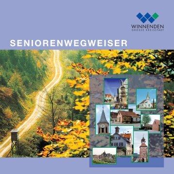 SENIORENWEGWEISER - Stadt Winnenden