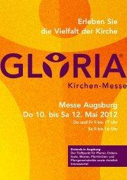 Erleben Sie die Vielfalt der Kirche Messe Augsburg Do 10. bis Sa 12 ...