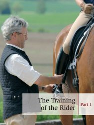 The Training of the Rider