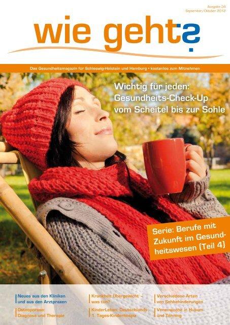 Berufe mit Zukunft im Gesund - Magazin für Gesundheit Schleswig ...