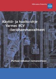 Varmec-käyttöohje - VEM motors Finland Oy