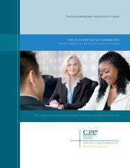 the accreditation handbook - Purchasing Management Association ...