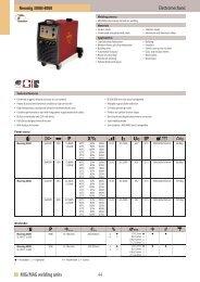 44 MIG/MAG welding units - Svejsehuset A/S