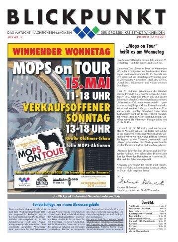 Blickpunkt Ausgabe 19-2011.pdf - Stadt Winnenden