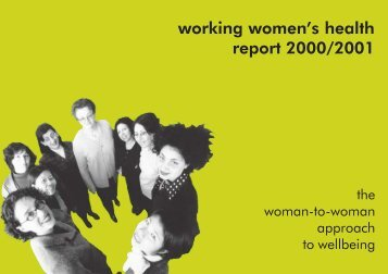 2001 WWH Annual Report - Multicultural Centre for Women's Health
