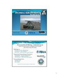 Humboldt Kick-Off Meeting Presentation - FEMA Region 9