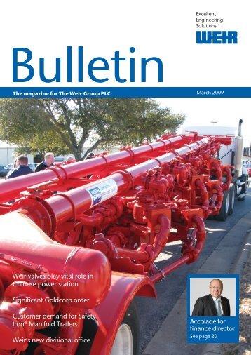 March 2009 issue - Weir Minerals