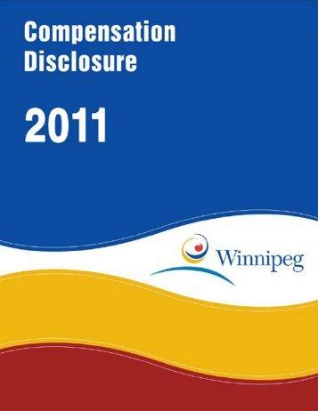 2011 City of Winnipeg Compensation Disclosure