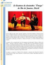 Le Quatuor de clarinettes