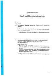 Kauf- und Dienstbarkeitsvertrag Törlenmatt - Gemeinde Hausen am ...