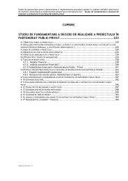 Studiu de fundamentare a deciziei de PPP - Consiliul Judeţean Iaşi