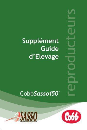 Supplément Guide d'Elevage - Cobb