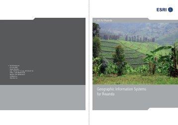 GIS for Rwanda - Esri Rwanda
