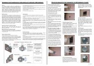 CSS Smoke ES Rated Fire Damper - Installation and ... - Actionair