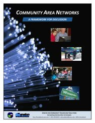 community area networks - Center for Community Technology ...