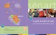 Guide du maître de stage (pour l'accueil d'étudiants ... - San de Sénart