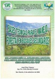 Bases Tecnicas para el manejo forestall en bosques ... - ITTO