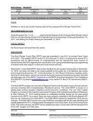RT Board of Directors - October 22, 2012 - Agenda Item ... - Site Map