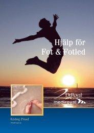 Hjälp för Fot & Fotled - Ortosupport