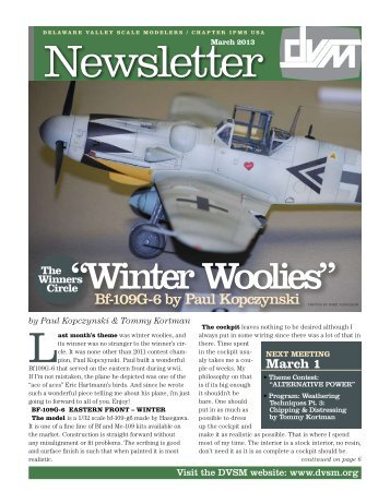 """Winter Woolies"" - Delaware Valley Scale Modelers"