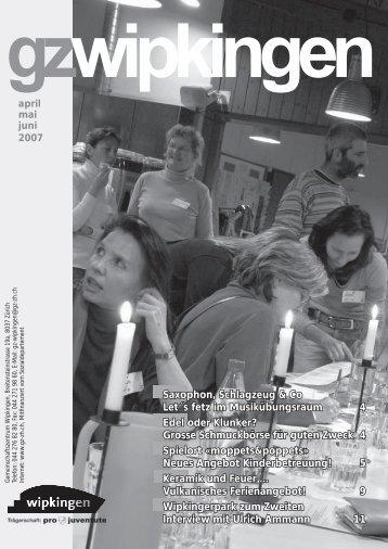 Veranstaltungen - Quartierverein Wipkingen