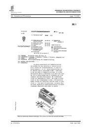 Collection of first pages of patent documents: SE, SI, SU - WIPO