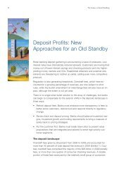 Deposit Profits: New Approaches for an Old Standby - McKinsey ...