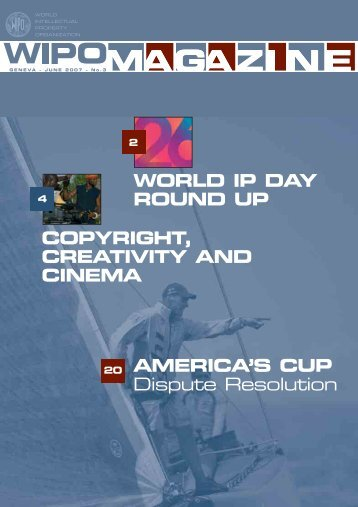 WORLD IP DAY ROUND UP AMERICA'S CUP Dispute ... - WIPO