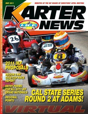May 2011 - International Kart Federation