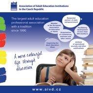 Why become a member? - Asociace institucí vzdělávání dospělých ...