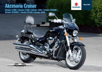 Akcesoria Cruiser - Suzuki Motor Poland