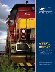 ANNUAL REPORT - ZSSK Cargo