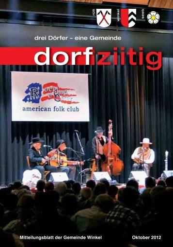 Dorfziitig Oktober2012 [PDF, 3.00 MB] - Gemeinde Winkel