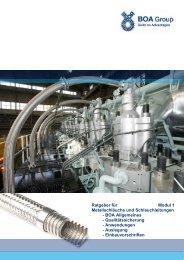 Ratgeber für Modul 1 Metallschläuche und ... - BOA Group