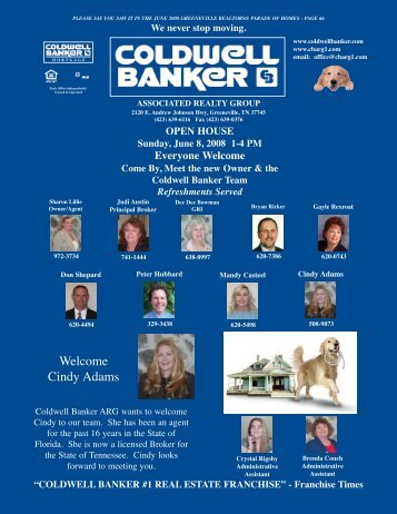 coldwell banker associated realty group - Youngspublishing.com