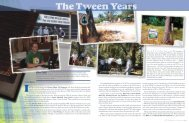The Tween Years - Pacific Crest Trail Association