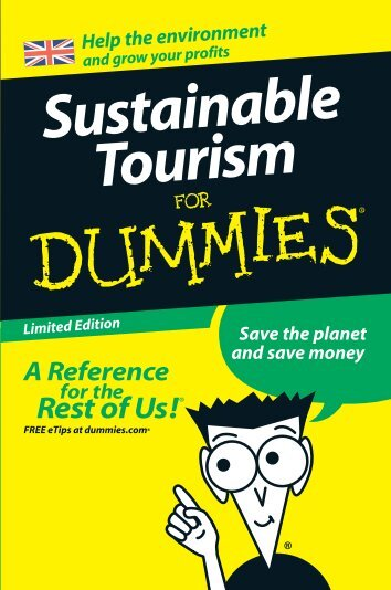 Sustainable Tourism For Dummies - VisitEngland
