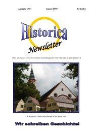 Das kostenlose historische Infomagazin für Franken und ... - Historica