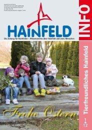 Hainfeld Info 1/2012 - Wir Hainfelder