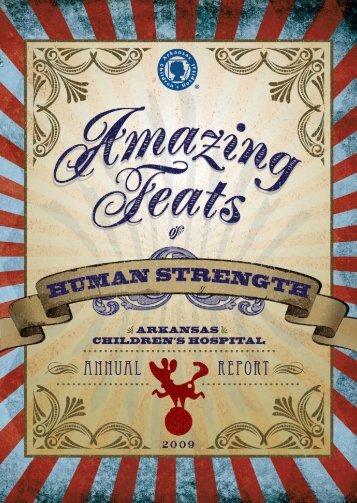 2009 Annual Report - Arkansas Children's Hospital