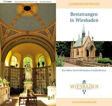 Bestattungen in Wiesbaden - Landeshauptstadt Wiesbaden