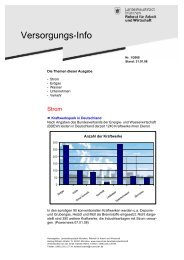 Versorgungs-Info - Referat für Arbeit und Wirtschaft