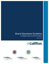 Brand Standards Guideline - InCommon