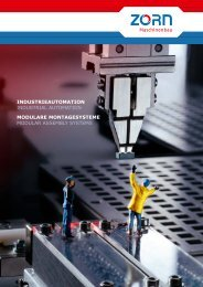 Sondermaschinenbau - bei ZORN Maschinenbau