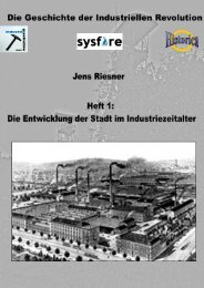 Die Entwicklung der Stadt im Industriezeitalter