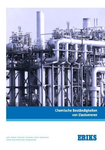 Chemische Beständigkeiten von Elastomeren - ERIKS