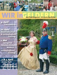 dasStadtMagazin Nr.2|2011|April - WIR in Geldern