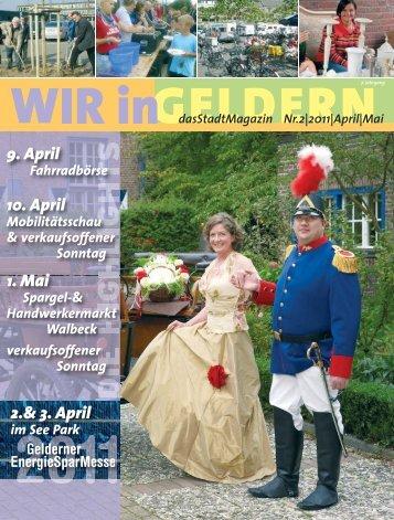 dasStadtMagazin Nr.2|2011|April - WIR in Geldern