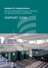 Handbok för avfallsutrymmen - Avfall Sverige