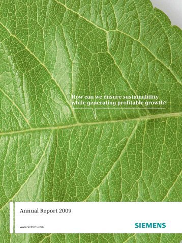Siemens Annual Report 2009
